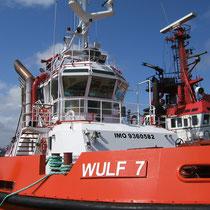 Schlepper der Reederei Wulf aus Cuxhaven
