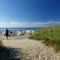 Strand in Cuxhaven Sahlenburg