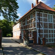 Zugang zum Schloss Ritzebüttel