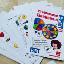 Kit pédagogique sur les émotions. Philosophie pour enfants. Empathie. Bienveillance.