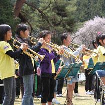 上郷小学校オーロラバンド