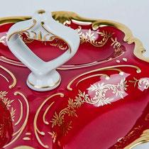 Немецкая Посуда Weimar Porzellan Ювел Красный,Интернет Магазин МагнитХаус