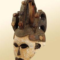 Masque heaume de danse Igbo