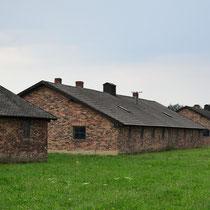 Stenen barakken Birkenau - diversen