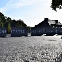Aankomst Sachsenhausen