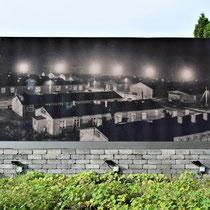 01. Oude foto van Kamp Börgermoor - staat bij de locatie van het voormalige kampterrein