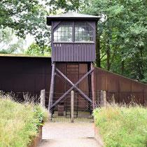 Wachttoren bij ingang museum