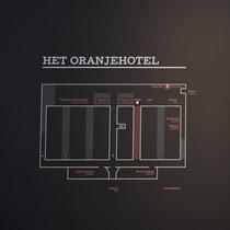Plattegrond Nationaal Monument Oranjehotel