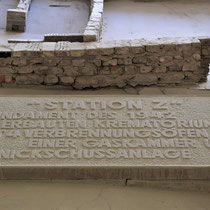 Herdenkingssteen crematorium