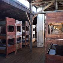 Slaap barak gevangenen Majdanek 3