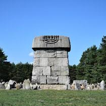 Memorial Monument Treblinka - achterkant ver