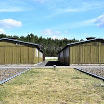 Gevangenenbarakken - naast de kampgevangenis