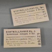 Treinkaartjes naar Auschwitz - moesten de gevangenen zelf betalen