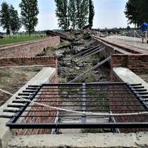 Restanten crematorium Birkenau