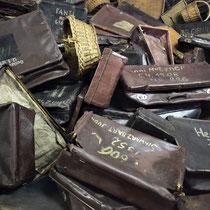 Koffers van gevangenen - afgenomen bij aankomst