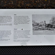Informatiebord over kamptuin