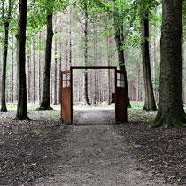Plek uitgang crematorium