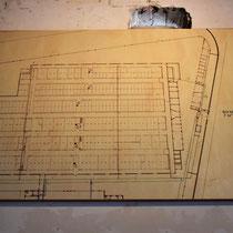 Oude plattegrond van Oranjehotel