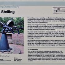 Informatiebord over FLAK stelling