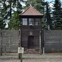 Wachttoren Auschwitz