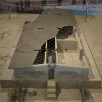 Maquette gaskamer Belzec 2
