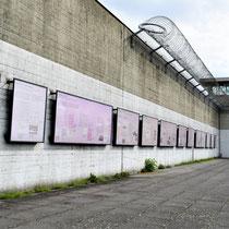 Voormalige gevangenis binnenmuur