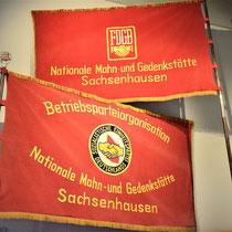 Memorialvlaggen Sachsenhausen