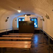 52. Voormalige barak - nu informatieruimte