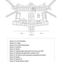 Plattegrond Fort van Breendonk