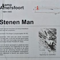 Informatiebord over De Stenen Man
