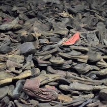 Schoenen van gevangenen - afgenomen bij aankomst