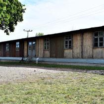 Timmerwerkplaats - naast kampgevangenis