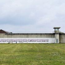 Voormalige gevangenis - binnenkant muur