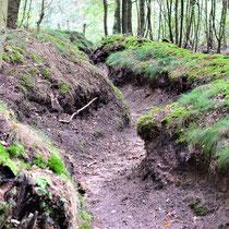 Voormalige loopgraven