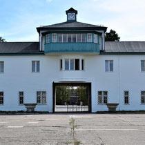 Uitgang kamp Sachsenhausen