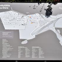 Kaart Mittelbau-Dora Memorial