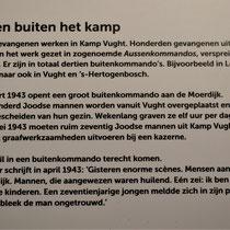 19) Informatiebord 'Werken buiten het kamp'