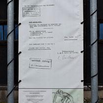 28. Factuur voor de verhuur van een smalspoor en materiaal aan het gemeentebestuur van Breendonk
