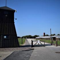 Ingang Memorial Site Majdanek