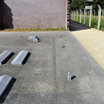 26) Overzicht maquette Kamp Vught wat in stand is gehouden (Nationaal Monument Kamp Vught is het ruwe gedeelte)