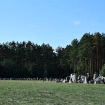 Overzicht memorial stenen