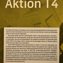 37. Informatiebord over 'Aktion T4'