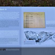Informatiebord over Block 10