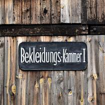 Barak Majdanek - bekleidungs kammer I
