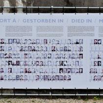 97. Overzicht van mensen die gestorven zijn in kamp Breendonk