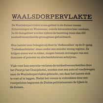 Informatiebord over de Waalsdorpervlakte