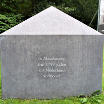Teken voor de Nederlanders die vermoord zijn in Mauthausen