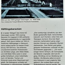Informatie bord over het gevangenenkamp