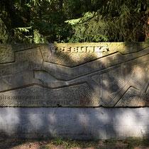 Stenen plattegrond Memorial Site Treblinka