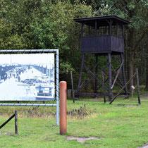 Wachttoren einde kamp